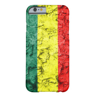 Vintage rasta Flagge Barely There iPhone 6 Hülle