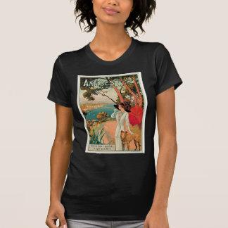 Vintage Reise-Anzeige Antibes Frankreich T-Shirt