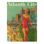Vintage Reise; Atlantic City Erholungsort, setzen