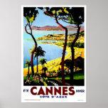 Vintage Reise, Cannes Plakatdruck