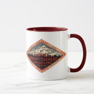 Vintage Reise, der Mount Everest, Darjeeling Tasse