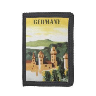 Vintage Reise, deutsches Schloss, Bayern