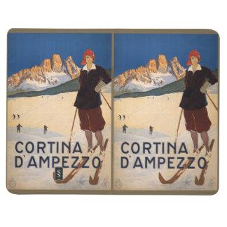 Vintage Reise-italienische Alpentaschenzeitschrift Taschennotizbuch