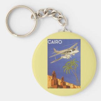 Vintage Reise nach Kairo, Eygpt, Schlüsselanhänger
