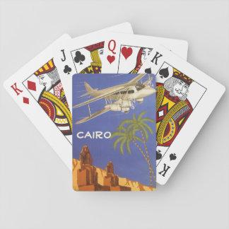 Vintage Reise nach Kairo, Eygpt, Spielkarten