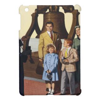 Vintage Reise Philadelphia iPad Mini Hülle