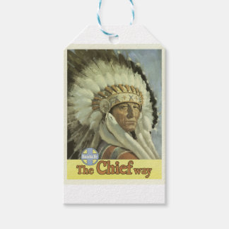 Vintage Reise Santa Fe New-Mexiko USA Geschenkanhänger