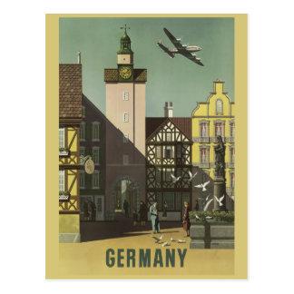 Vintage Reisepostkarte DEUTSCHLANDS Postkarte