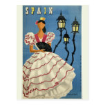 Vintage Reisepostkarte SPANIENS Postkarte