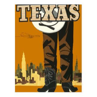 Vintage Reisepostkarte Texas USA Postkarte