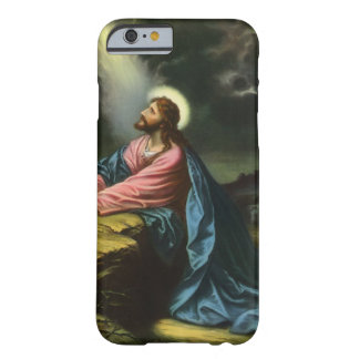 Vintage Religion, Gethsemane, Beten Jesus-Christus Barely There iPhone 6 Hülle
