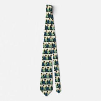 Vintage Religion, Jungen-Sprichwort-Anmut am Individuelle Krawatten