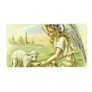 Vintage Religion, viktorianischer Ostern-Engel mit