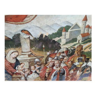 Vintage religiöse Kunst-Postkarte Postkarte