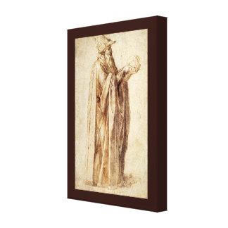 Vintage Renaissance, Philosoph durch Michelangelo Leinwanddruck