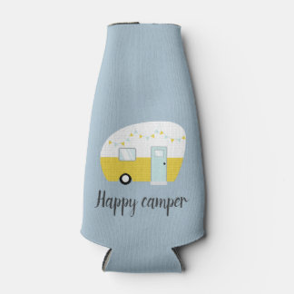 Vintage Retro Camper-Bier-Getränk-Flasche cooler Flaschenkühler