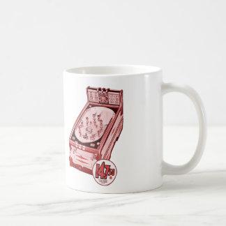 Vintage Retro Flipperautomat-Maschine Kaffeetasse