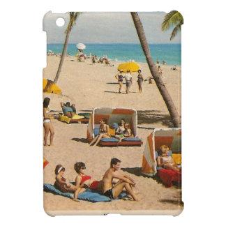 Vintage Retro Florida-Strand-Reise iPad Mini Hülle