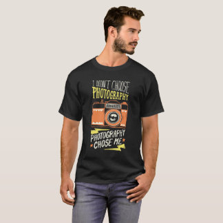 Vintage Retro Fotografiet-shirts für Frauen/Männer T-Shirt