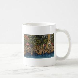 Vintage Retro Gärten Floridas Zypresse Kaffeetasse