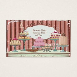 Vintage Retro süße Visitenkarte