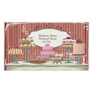 Vintage Retro süße Visitenkarten