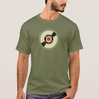 Vintage Rockabilly Vinylaufzeichnung T-Shirt