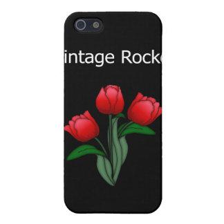 Vintage Rocker u. Rosen Iphone 4 Fall-Speck-Haut iPhone 5 Case