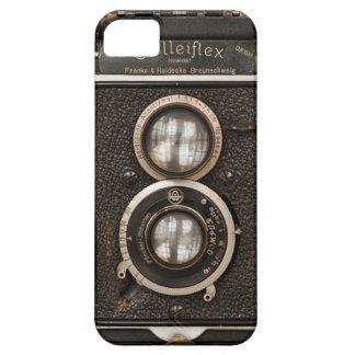 Vintage Rolleiflex Doppellinsekamera iPhone 5 Etuis