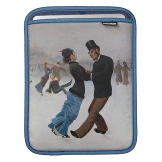 Vintage romantische Eis-Skater Sleeves Für iPads
