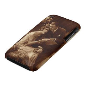 Vintage romantische Musik, Liebe und Romance Case-Mate iPhone 3 Hülle