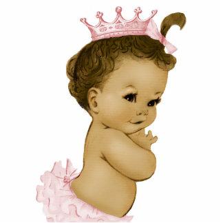 Vintage rosa Mädchen-Dusche Prinzessin-Baby Ausschnitte
