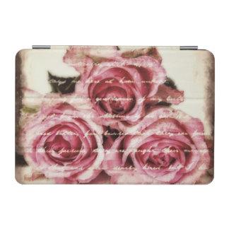 Vintage rosa Rosen iPad Mini Hülle