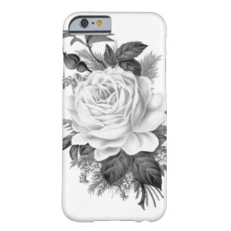 Vintage Rose Barely There iPhone 6 Hülle