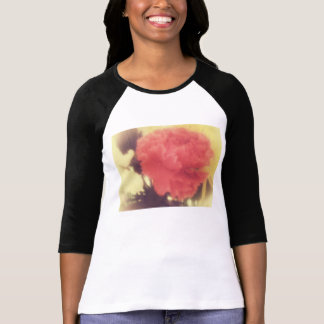Vintage Rose Raglan-Shirtdamen T-Shirt