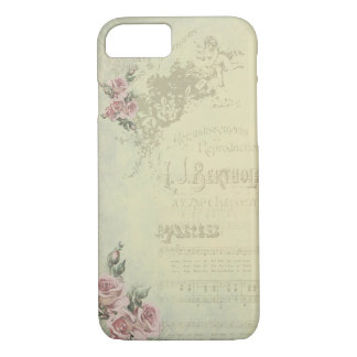 Vintage Rose - Shabby Chic iPhone 8/7 Hülle