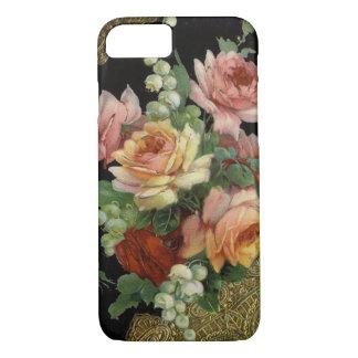 Vintage Rosen iPhone 7 Hülle