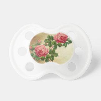 Vintage Rote Rosen Schnuller