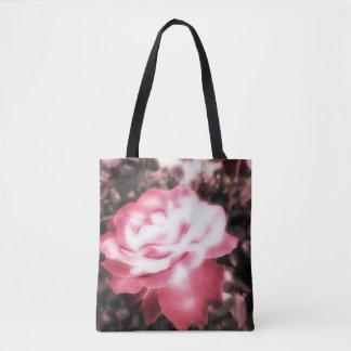 Vintage Rote Rosen Tasche