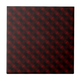 Vintage rote Samt-Tapeten-abstrakter Entwurf Keramikfliese