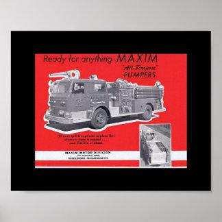 Vintage ` s Ära Zeitschriften-Anzeige 1960 für MAX Poster