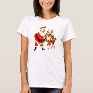 Vintage Sankt und Ren T-Shirt