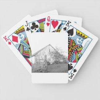Vintage Scheune Bicycle Spielkarten