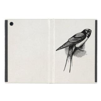 Vintage Scheunen-Schwalben-schnelle iPad Mini Etui