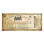 Vintage Schläger-Halloween-Karten-Einladung