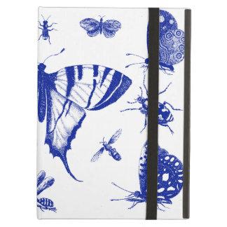 Vintage Schmetterlinge im Blau