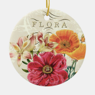 Vintage Schmetterlings-Flora… Verzierung Weinachtsornamente