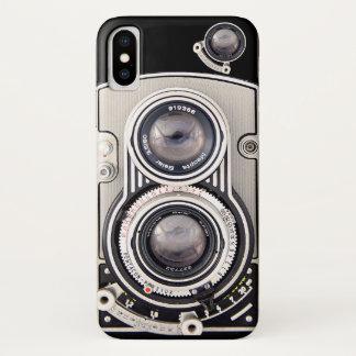 Vintage schöne Kamera iPhone X Hülle