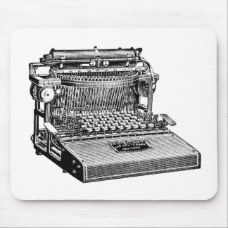 Vintage Schreibens-Maschine Nr. 4 Caligraph, Mousepad