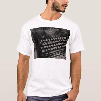 Vintage Schreibmaschine B&W T-Shirt